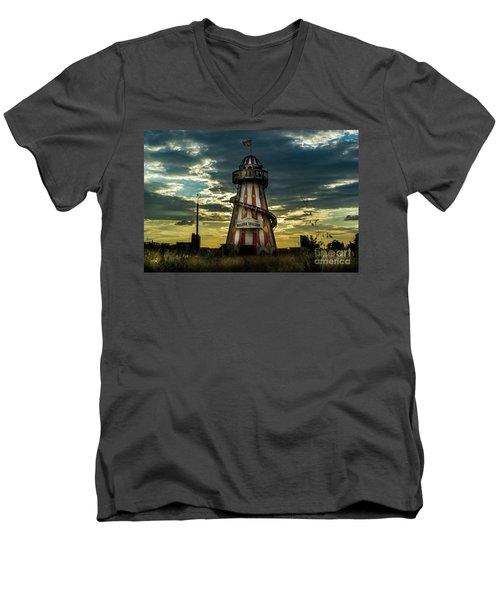 Helter Skelter Men's V-Neck T-Shirt
