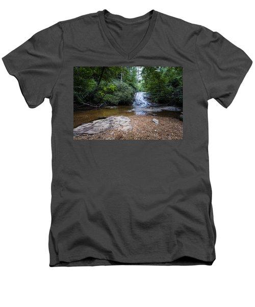 Helton Creek Falls Men's V-Neck T-Shirt