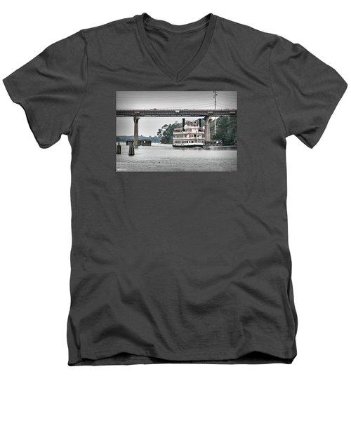 Men's V-Neck T-Shirt featuring the photograph Henrietta IIi by Phil Mancuso