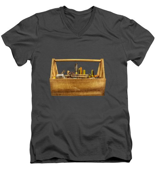 Henry's Toolbox Men's V-Neck T-Shirt