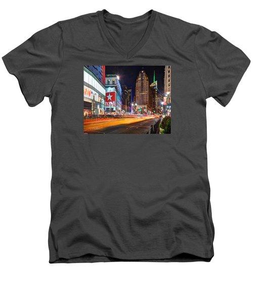Herald Square 034 Men's V-Neck T-Shirt
