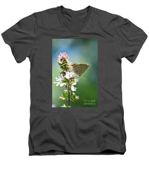 Herb Visitor Men's V-Neck T-Shirt