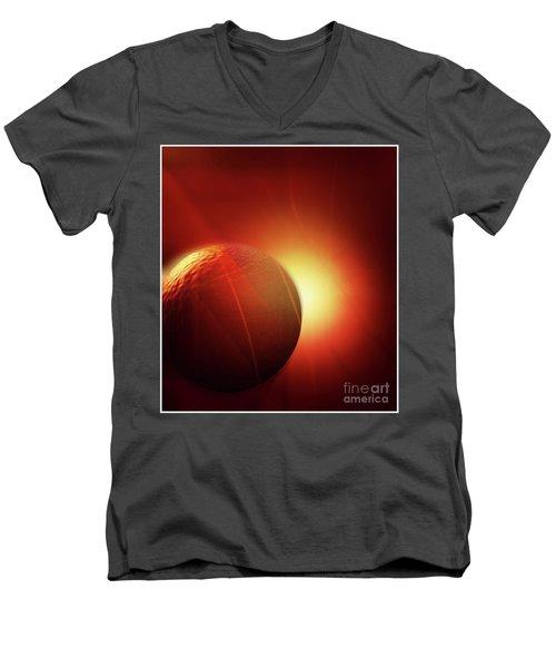 Here Comes The Sun Men's V-Neck T-Shirt by John Krakora