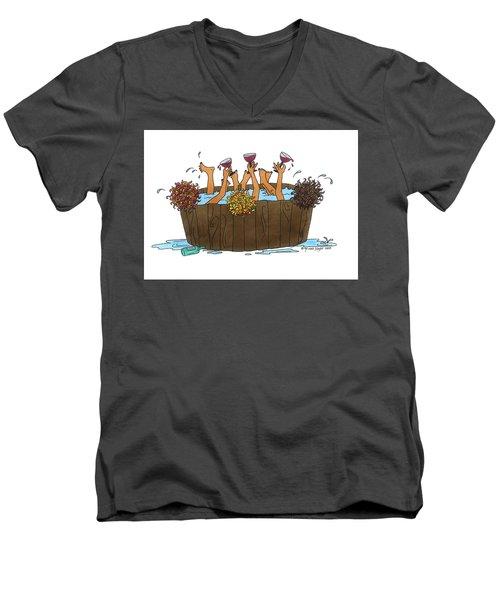 Here's To Us Men's V-Neck T-Shirt