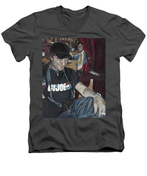 Hero Men's V-Neck T-Shirt