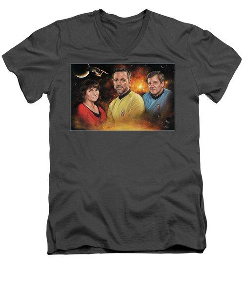 Heroes Of The Farragut Men's V-Neck T-Shirt