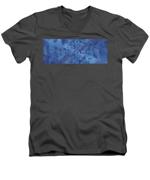 Hexentricity 1 Men's V-Neck T-Shirt