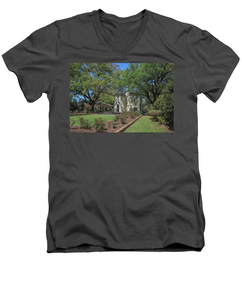 Heyman House Garden 3 Men's V-Neck T-Shirt