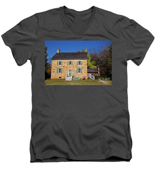 Hezekiah Alexander Homesite Men's V-Neck T-Shirt