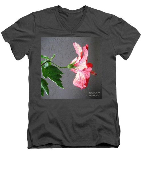 Hibiscus #4 Men's V-Neck T-Shirt
