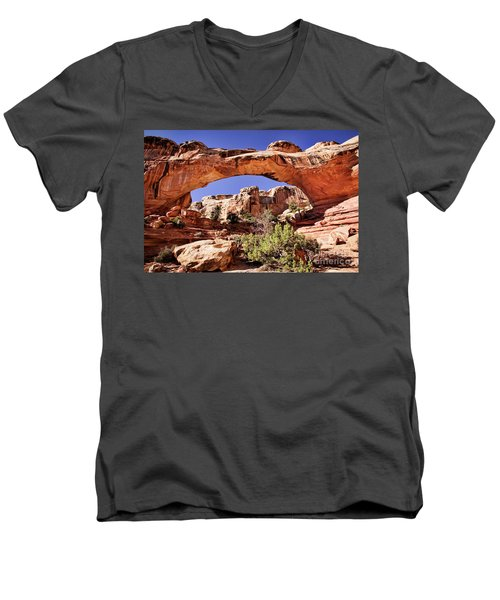 Hickman Bridge Men's V-Neck T-Shirt