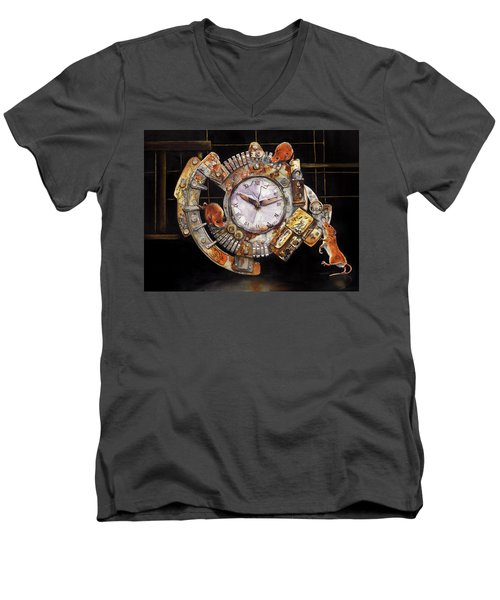 Hickory Dickory Dock Men's V-Neck T-Shirt