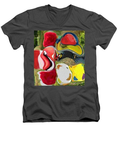 Odd Couplings Men's V-Neck T-Shirt