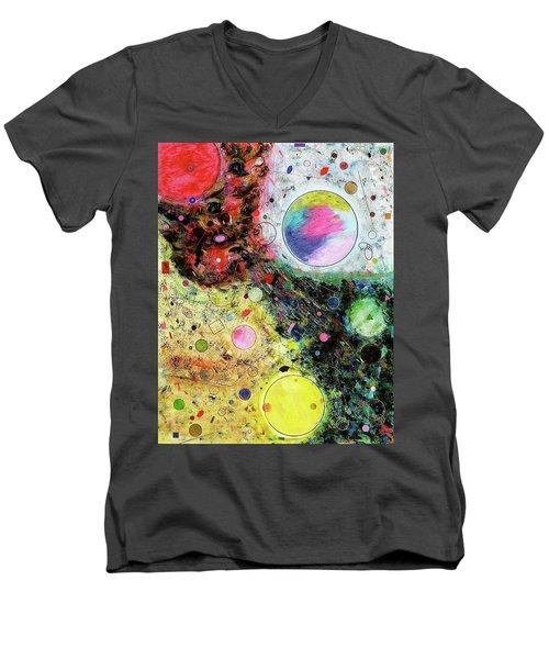 Hidden Aliens Men's V-Neck T-Shirt