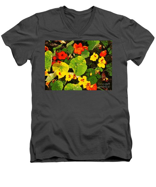 Hidden Gems Men's V-Neck T-Shirt by Winsome Gunning