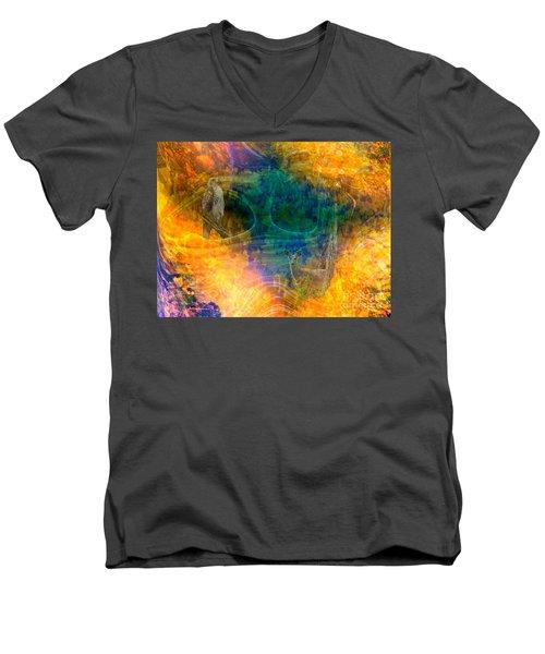 Hidden In Nature Men's V-Neck T-Shirt