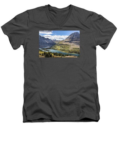 Hidden Lake Overlook Men's V-Neck T-Shirt