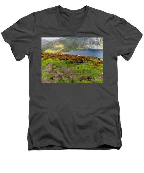 Hidden Lake Men's V-Neck T-Shirt