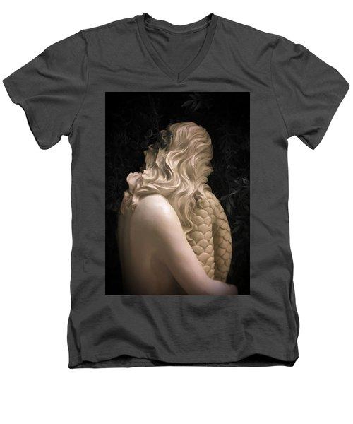 Hidden Mermaid Men's V-Neck T-Shirt