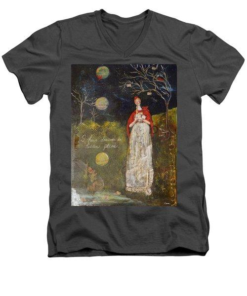 Hidden Places Men's V-Neck T-Shirt by Sharon Furner