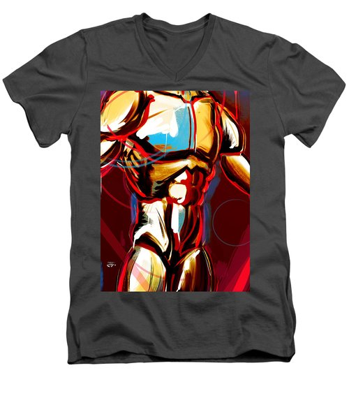 Hidden Strength  Men's V-Neck T-Shirt