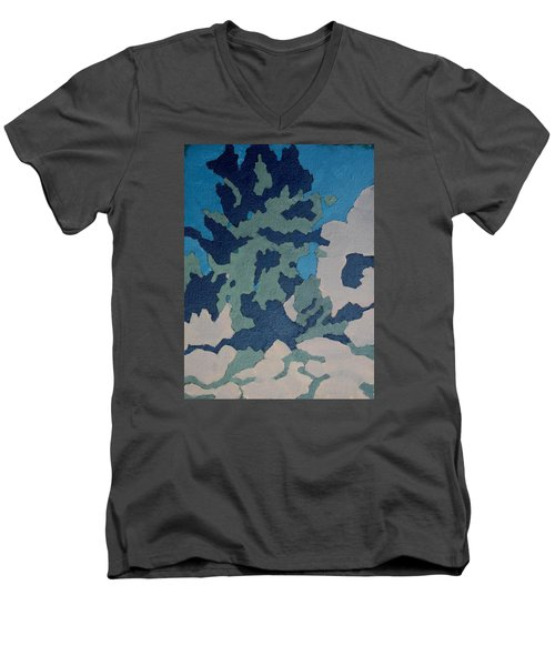 Hidden Valley Abstraction Men's V-Neck T-Shirt by Richard Willson