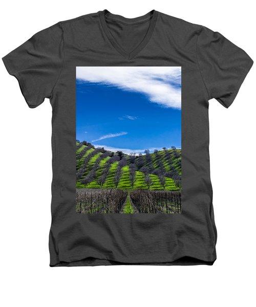 Hidden Valley Hills Men's V-Neck T-Shirt