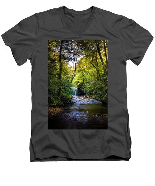 Men's V-Neck T-Shirt featuring the photograph Hidden Wonders by Marvin Spates