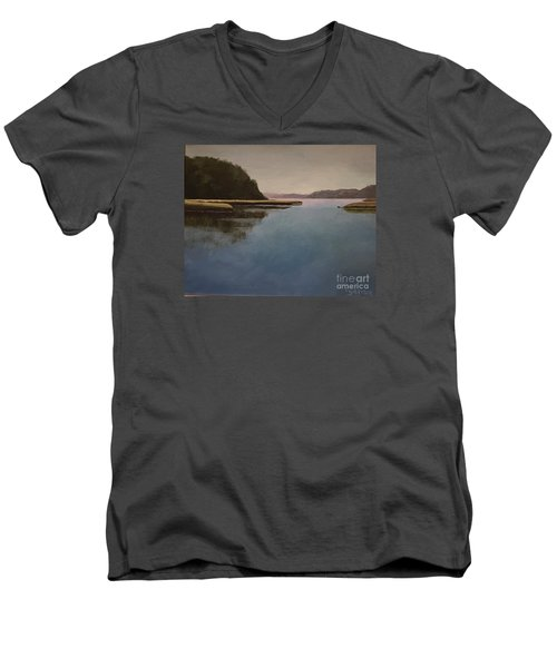 High Tide Little River Men's V-Neck T-Shirt