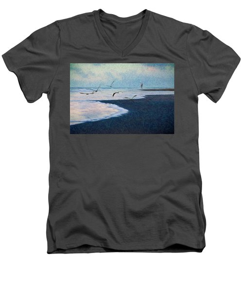 Hide Tide Men's V-Neck T-Shirt