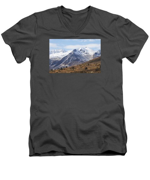 High Country In Fall Men's V-Neck T-Shirt by Michele Cornelius