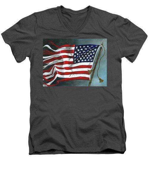 High Crimes And Misdemeanors Men's V-Neck T-Shirt