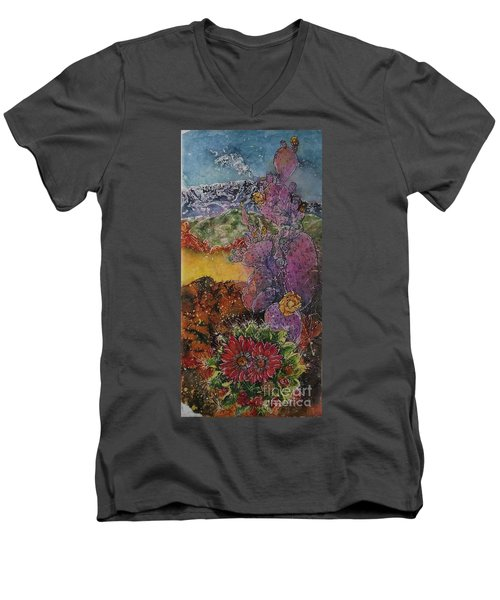 High Desert Spring Men's V-Neck T-Shirt