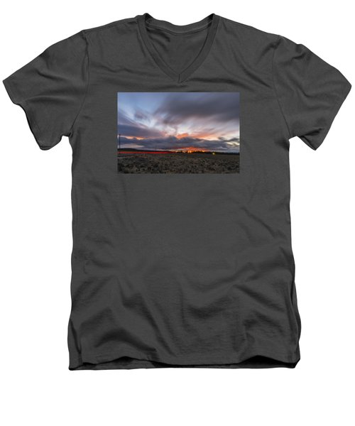 High Desert Twilights Men's V-Neck T-Shirt
