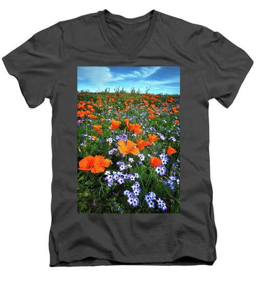 High Desert Wildflowers Men's V-Neck T-Shirt