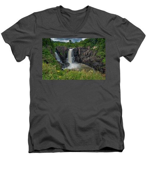 High Falls Men's V-Neck T-Shirt
