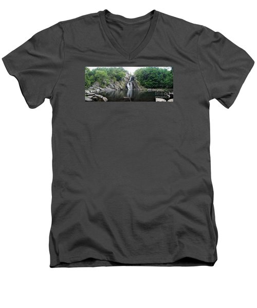 High Falls Men's V-Neck T-Shirt