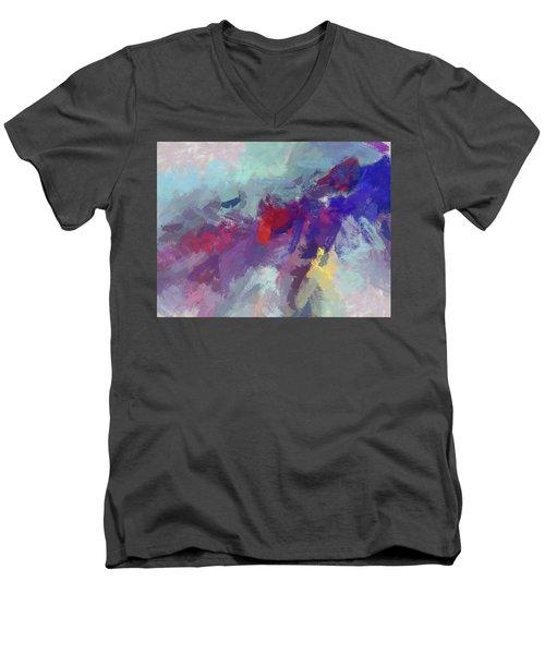 High Flying Kite Men's V-Neck T-Shirt
