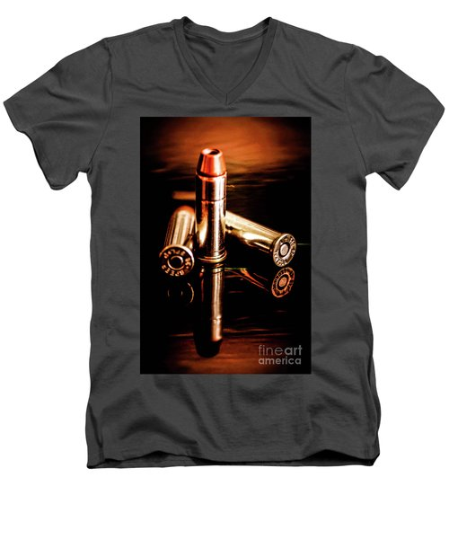 High Noon Men's V-Neck T-Shirt