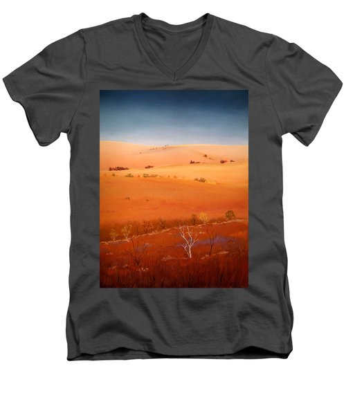 High Plains Hills Men's V-Neck T-Shirt