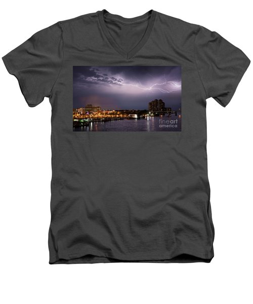 High Point Place Nights Men's V-Neck T-Shirt