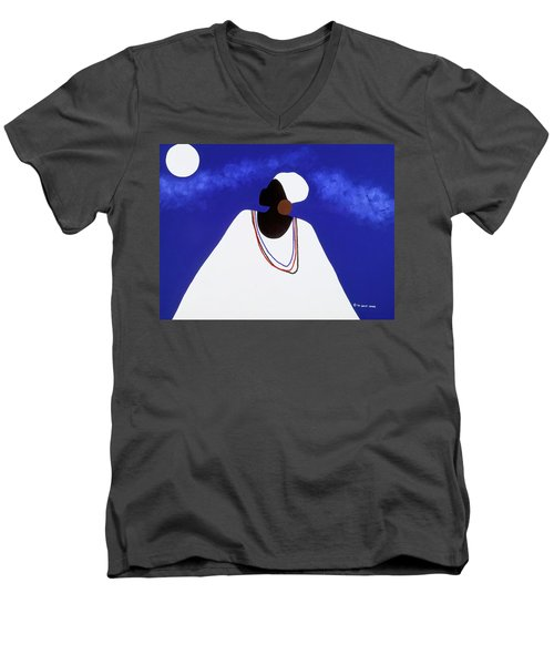 High Priestess I Men's V-Neck T-Shirt