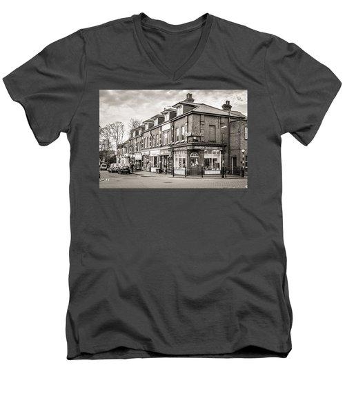 High Street. Men's V-Neck T-Shirt