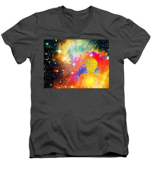 Higher Perspective Men's V-Neck T-Shirt
