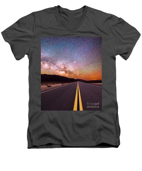 Highway To Heaven Men's V-Neck T-Shirt