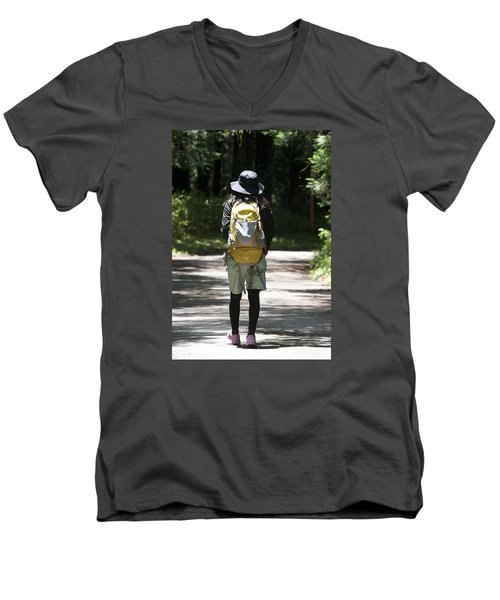 Hiker Men's V-Neck T-Shirt