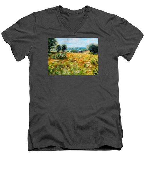 Hill Country Mile Men's V-Neck T-Shirt