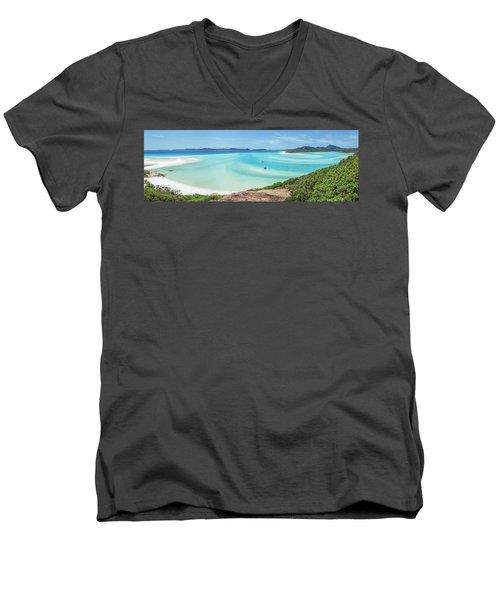 Hill Inlet Lookout Men's V-Neck T-Shirt
