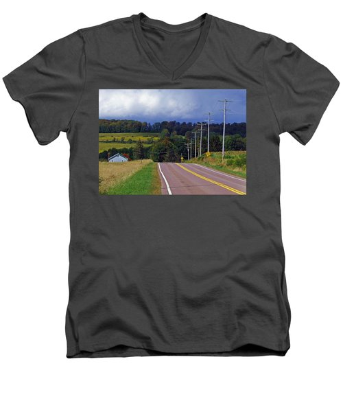Hillside Ways Men's V-Neck T-Shirt