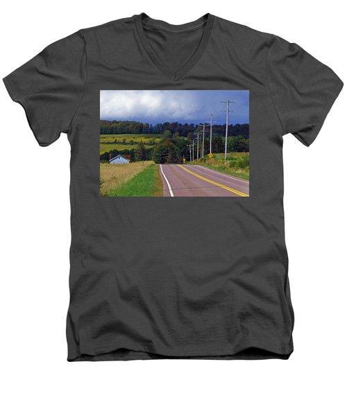 Hillside Ways Men's V-Neck T-Shirt